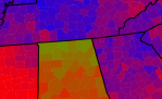 Choropleth Maps of Presidential Voting